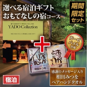 《タオルセット》選べる宿泊ギフト(おもてなしの宿)5万円